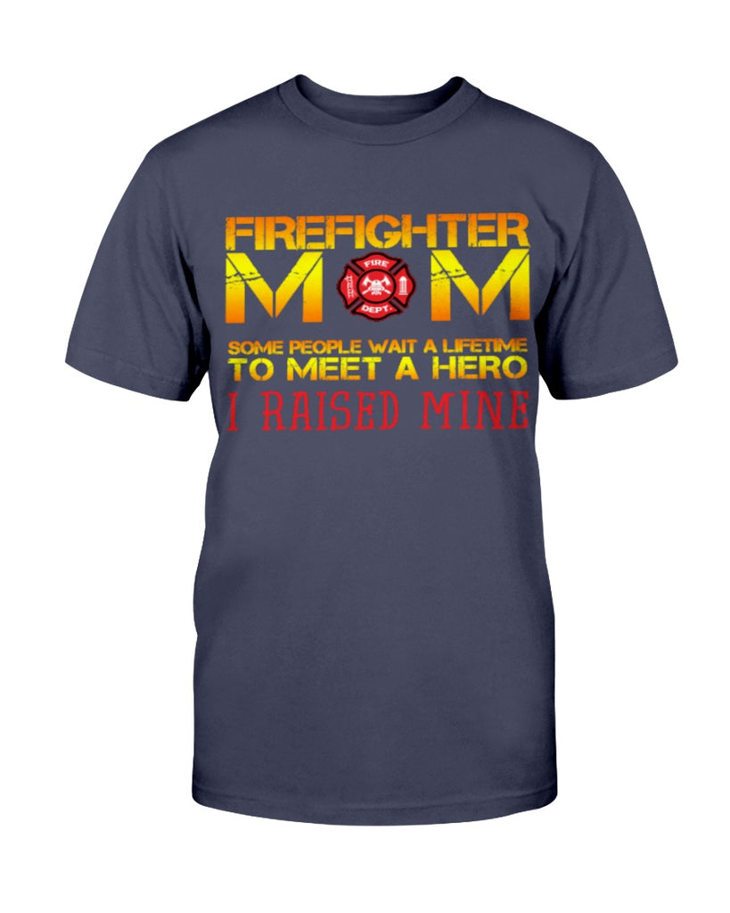 Firefighter Mom Thin Red Line Fireman Hero Raised