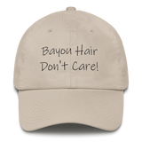 New Orleans Bayou Hair Don't Care Pink Dad Hat
