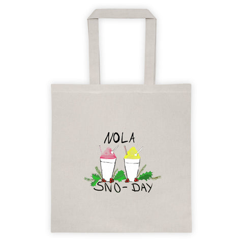New Orleans NOLA Sno-Day Tote bag
