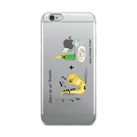iPhone Cover Jazz Brunch Case