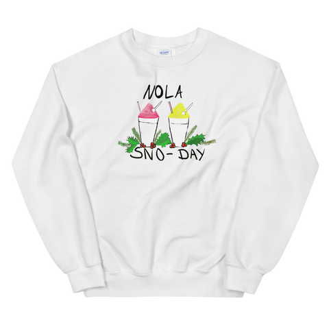 Unisex New Orleans NOLA Sno-Day Sweatshirt