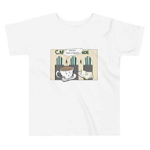 New Orleans NOLA Square Beignets Toddler T-shirt