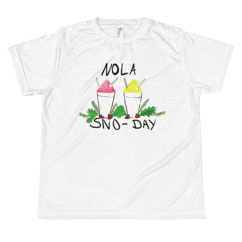 New Orleans NOLA Sno-Day Youth T-shirt