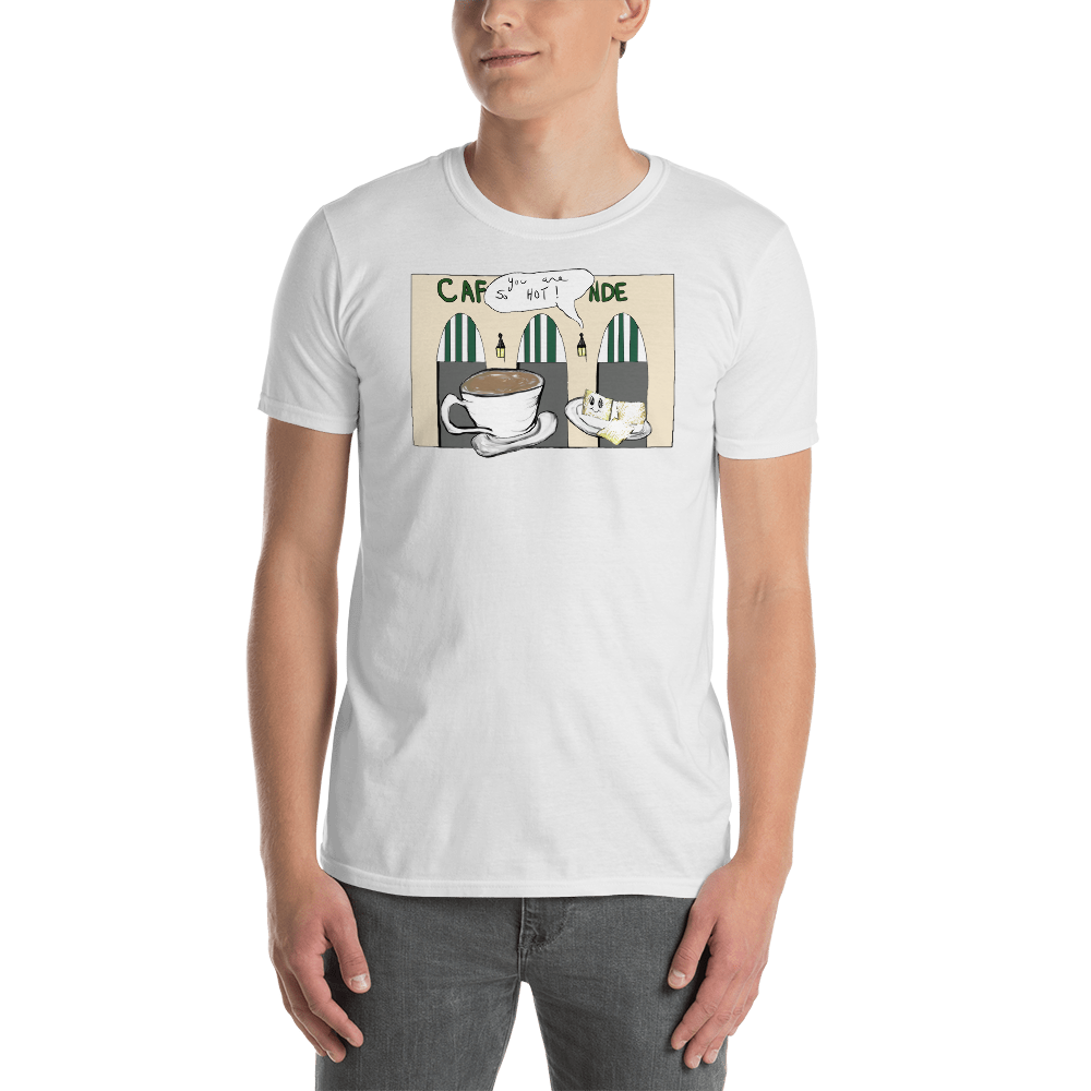 Men's New Orleans NOLA Hot Coffee Tee