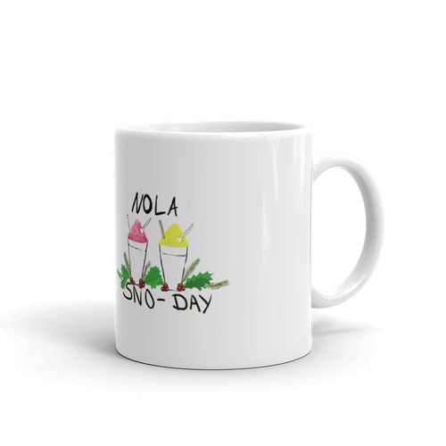 New Orleans NOLA Sno-Day Mug