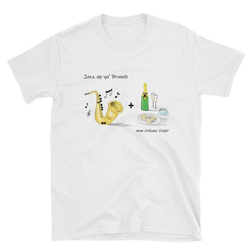 Men's New Orleans NOLA Jazz Up Ya' Brunch Tee