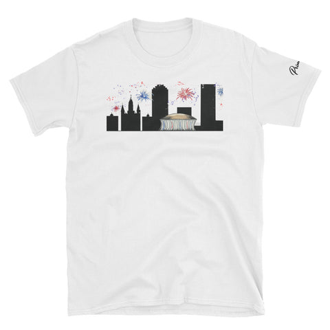 Unisex New Orleans 4th of July Skyline Tee