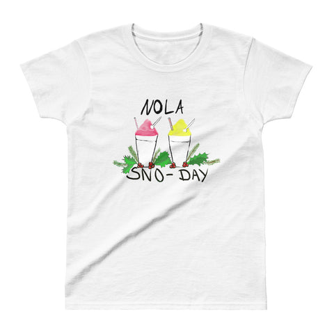 Women's New Orleans NOLA Sno-Day Top