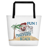New Orleans Pontchartrain Beach Summer Beach Bag