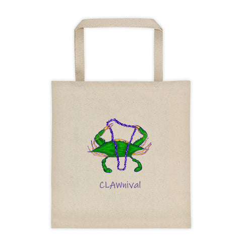 New Orleans Clawnival Tote Bag