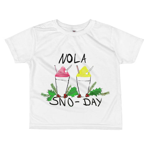 New Orleans NOLA Sno-Day Toddler T-shirt