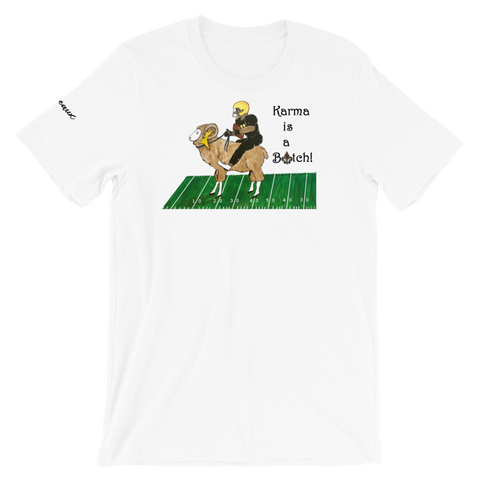 Unisex New Orleans Karma Football Tee