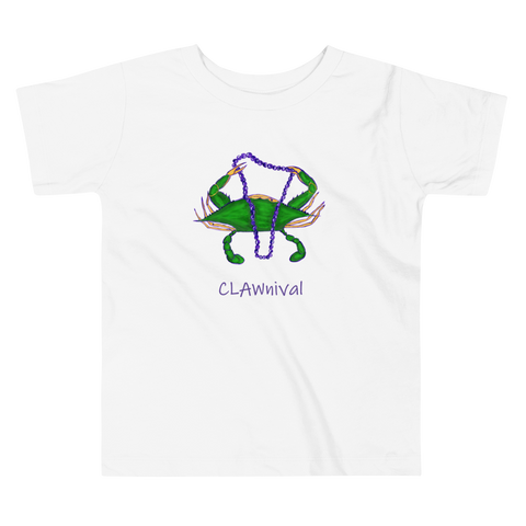 New Orleans Clawnival Toddler T-shirt
