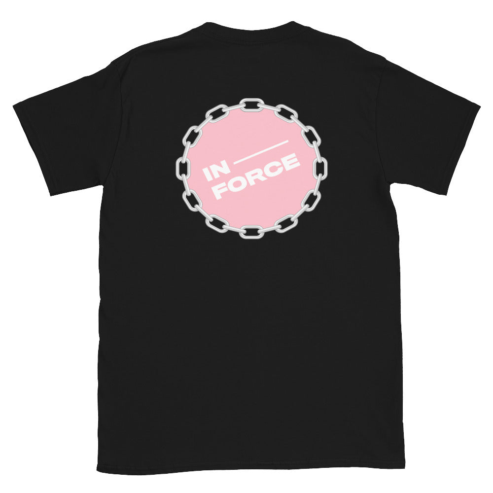 Pink Amaryllis Short-Sleeve T-Shirt - INFORCE Clothing