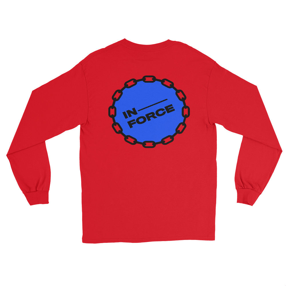 Social Distancing Long Sleeve Shirt - INFORCE Clothing