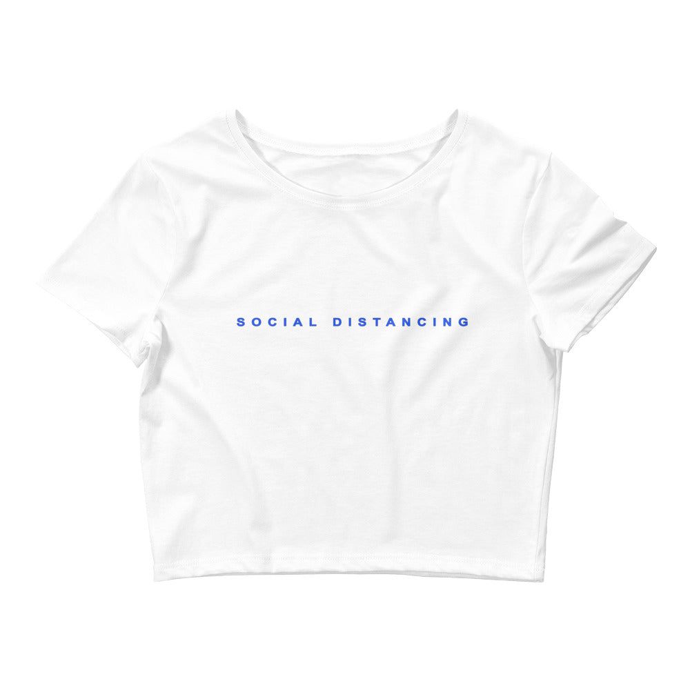 Social Distancing Crop Tee - INFORCE Clothing