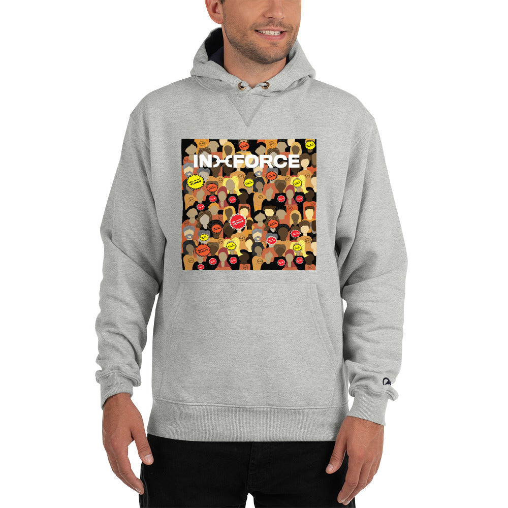 Strength in Numbers Champion hoodie - INFORCE Clothing