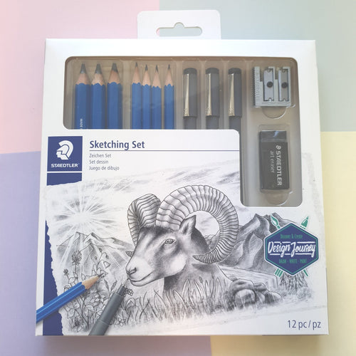 Design Journey 12pc Sketching Set