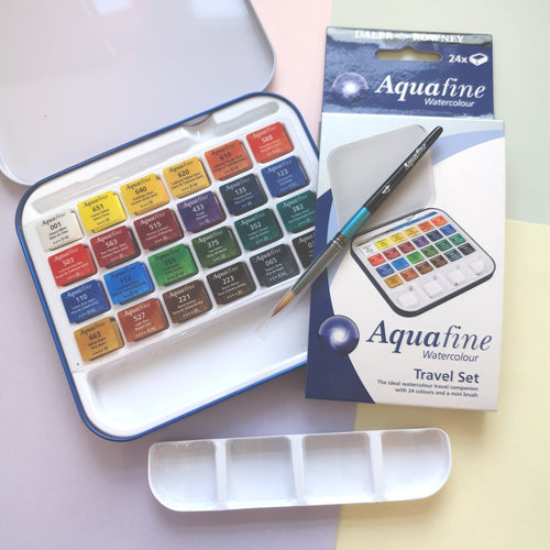 Aquafine Watercolour Palette | Travel Set