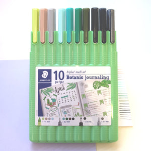 Botanical Journaling | 10pc Triplus Multi Set
