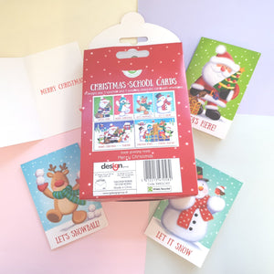 Set of 32 Christmas Class Cards
