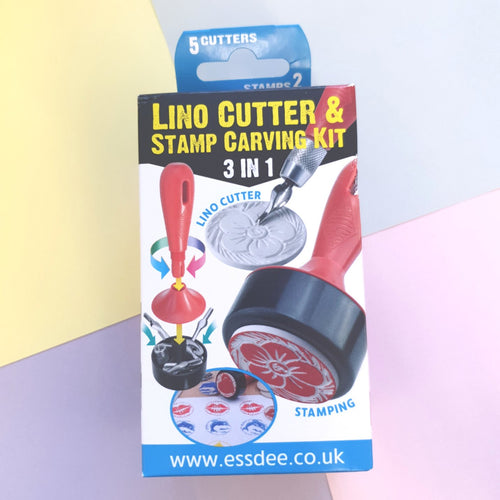 Lino Cutting & Stamping Carving Kit 3in1