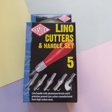 Lino Cutting Blades & Handle Set  | 5 Pack