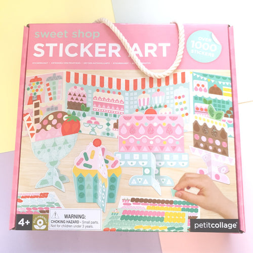 Sweet Shop | Sticker Art Playset