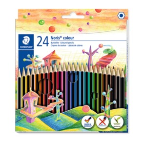 Staedtler Noris Colour Colouring Pencils | Pack of 24