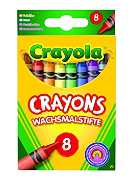 Crayola Crayons Pack of 8