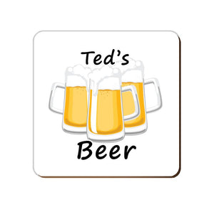 ______'s Beer | Personalised Drinks Coaster
