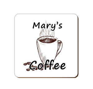 ______'s Coffee | Personalised Drinks Coaster