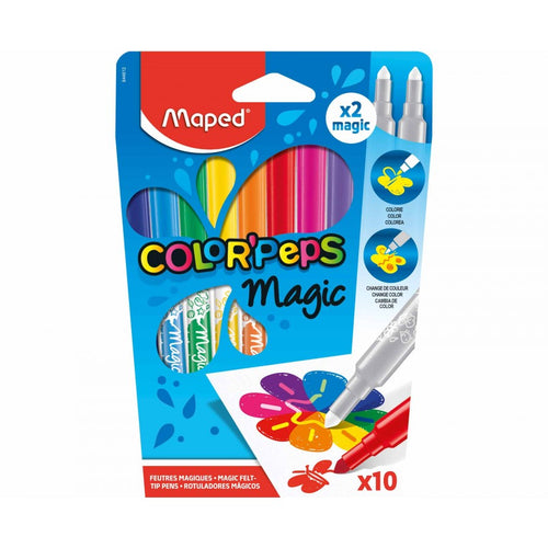 Magic Colour Changing Felt Tip Markers | Maped Colour Peps