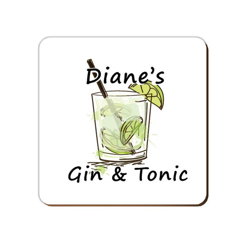 ______'s Gin & Tonic | Personalised Drinks Coaster