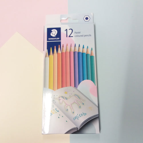 Staedtler 12 Pastel Pencils