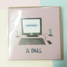 A Dell | Blank Greeting Card with Envelope