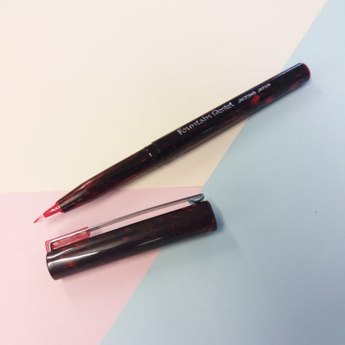 Red Ink Imitation Fountain Pen
