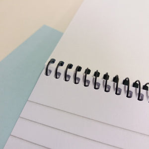 "Spiral Bound 8""x5"" Shorthand Ruled Notebook"
