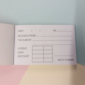 Silvine Mini Receipt Duplicate Book