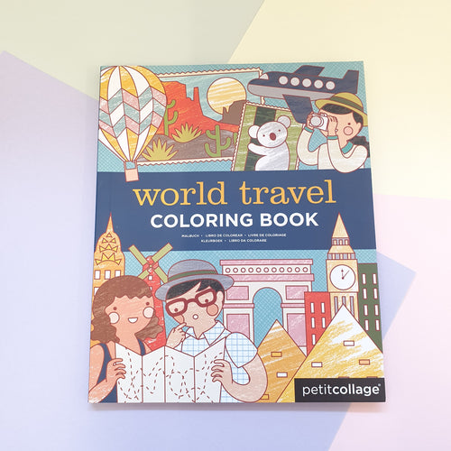 World Travel | Childrens Colouring Book