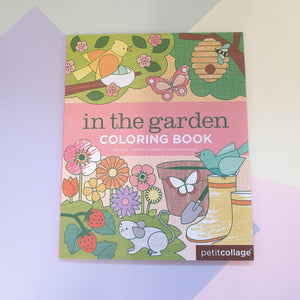 In The Garden | Childrens Colouring Book