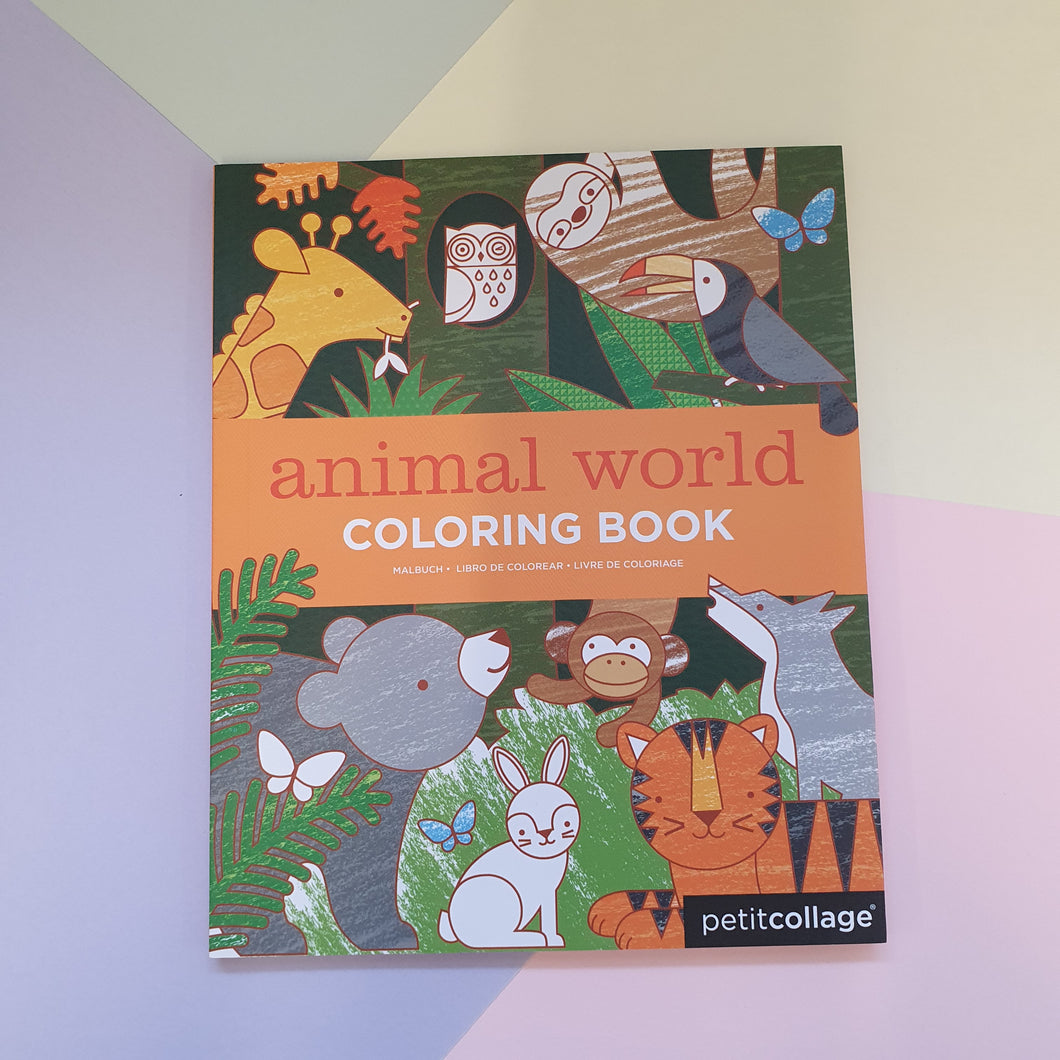 Animal World | Childrens Colouring Book
