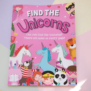Find the Unicorns | Activity Book