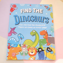 Find the Dinosaurs | Activity Book