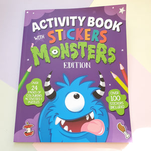 Monsters Stickers, Puzzles & Activities Book