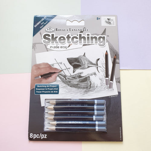 Assorted Designs | Sketching Made Easy Mini Kit