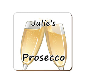 ______'s Prosecco | Personalised Drinks Coaster