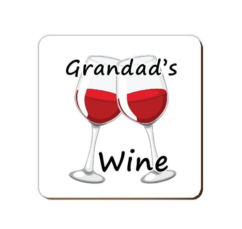______'s Red Wine | Personalised Drinks Coaster