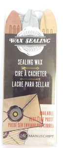Sealing Wax Metallic Sticks | Set of 3