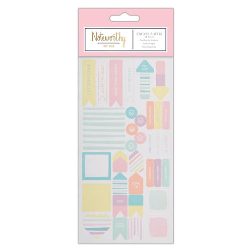 Sticker Sheet | Pastel Hues